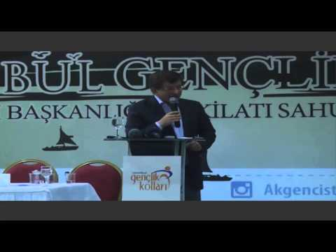 Ahmet Davutoğlu Tarihi İsrail ve Ortadoğu Konuşması
