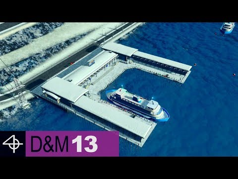Connecting Islands with Ferries | Unmodded Cities: Skylines – Design and Manage, Part 13