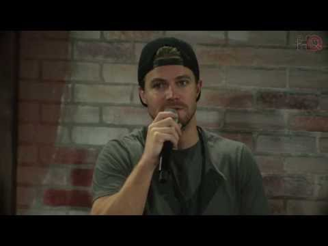 Nerd HQ 2016: A Conversation with Stephen Amell (#2)