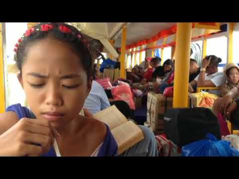 GLIMPSE OF BOAT TRANSPORTATION IN THE PHILIPPINES TRAVEL CEBU VIA GETAFE