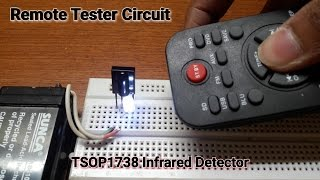 """How to make a """"Remote Tester Circuit"""" on a Breadboard."""