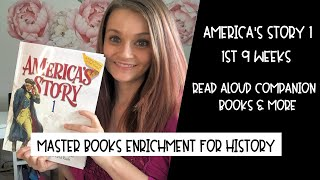Master Books America's Story 1 Companion Books & Enrichment Activities | 1st 9 weeks