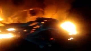 Veículo é encontrado em chamas às margens da Rodovia PE 062, em Goiana