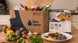 Blue Apron Unboxing, Cooking, and Review