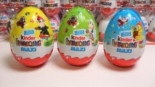 Đồ chơi bóc trứng socola vĩ đại Super Maxi Kinder Surprise Eggs