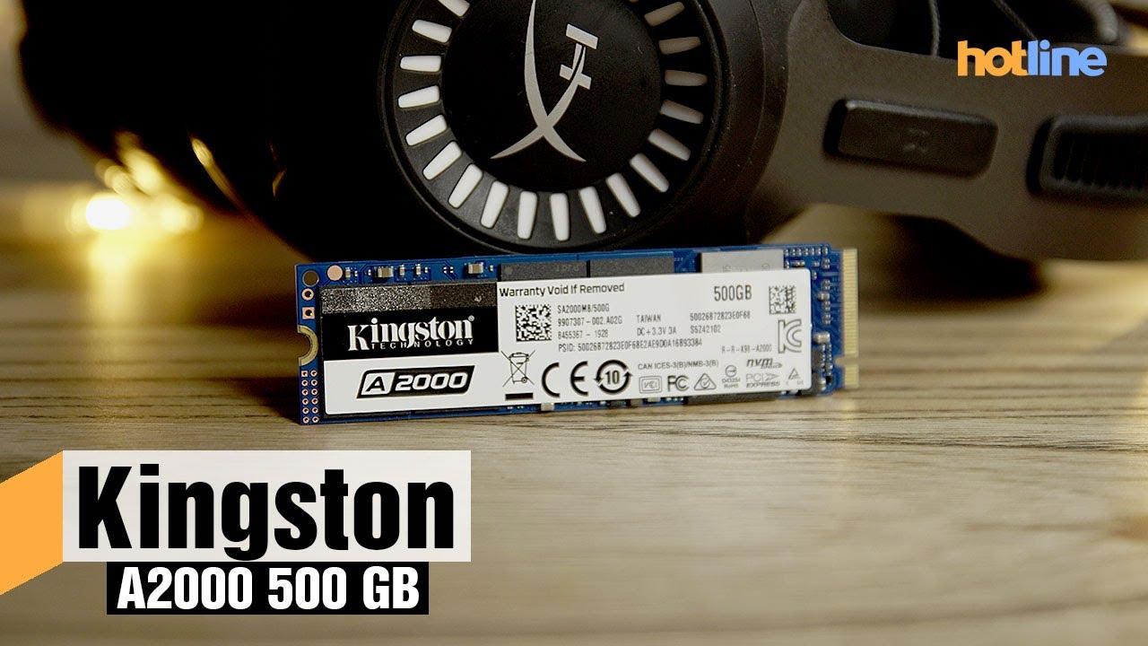 Kingston A2000 500 ГБ – обзор накопителя
