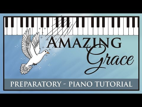 Amazing Grace - Super Easy Piano Tutorial - Hoffman Academy
