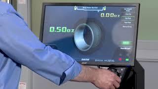 балансировка HUNTER SmartWeight Pro видео работы  Балансировочные станки HUNTER