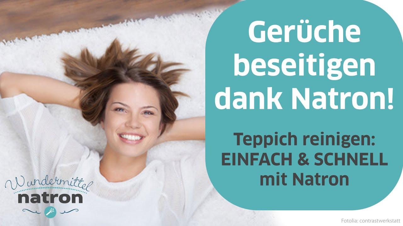 Teppich stinkt - Gerüche mit Natron neutralisieren - YouTube