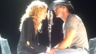 Tim McGraw & Faith Hill. I Need You. Live Brisbane
