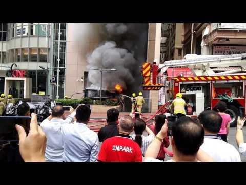 Fire in Hong Kong!!