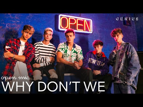 Why Don't We What Am I (Live Performance) | Open Mic