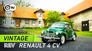 Renault 4CV: A masterpiece of engineering   Vintage