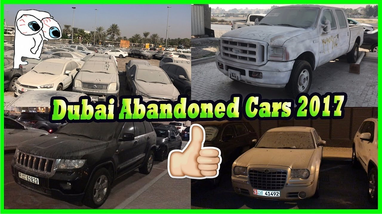 Finding Abandoned Cars Junkyard In Dubai Abandoned American Cars