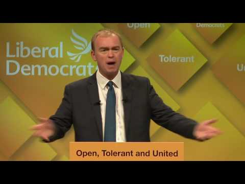 Tim Farron's Autumn Conference Speech 2016