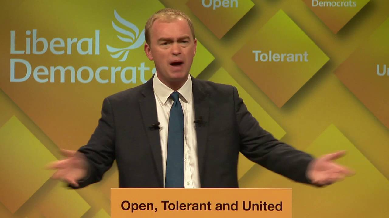 Image result for tim farron speech