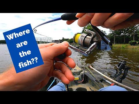 Tough Day On Lake Conroe | Kayak Bass Fishing