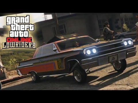 GTA 5 LOWRIDER DLC Update Gameplay Trailer BREAKDOWN - New Cars & More (GTA 5 Lowriders DLC)