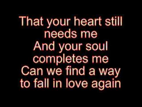 TO FALL IN LOVE AGAIN BY JESSICA SIMPSON KARAOKE VERSION