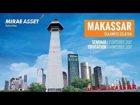 Mirae Asset Sekuritas Galeri Makassar | Events | Seminar | Trading Education