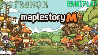 MapleStory M Gameplay Review #1 - MapleStory M Night Lord Guide Strategy Android Game iOS 2018