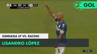 Lisandro López (0-3) Gimnasia LP vs Racing | Fecha 12 - Superliga Argentina 2018/2019