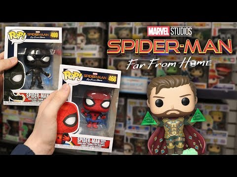 Spider-Man Far From Home Funko Pop Hunting