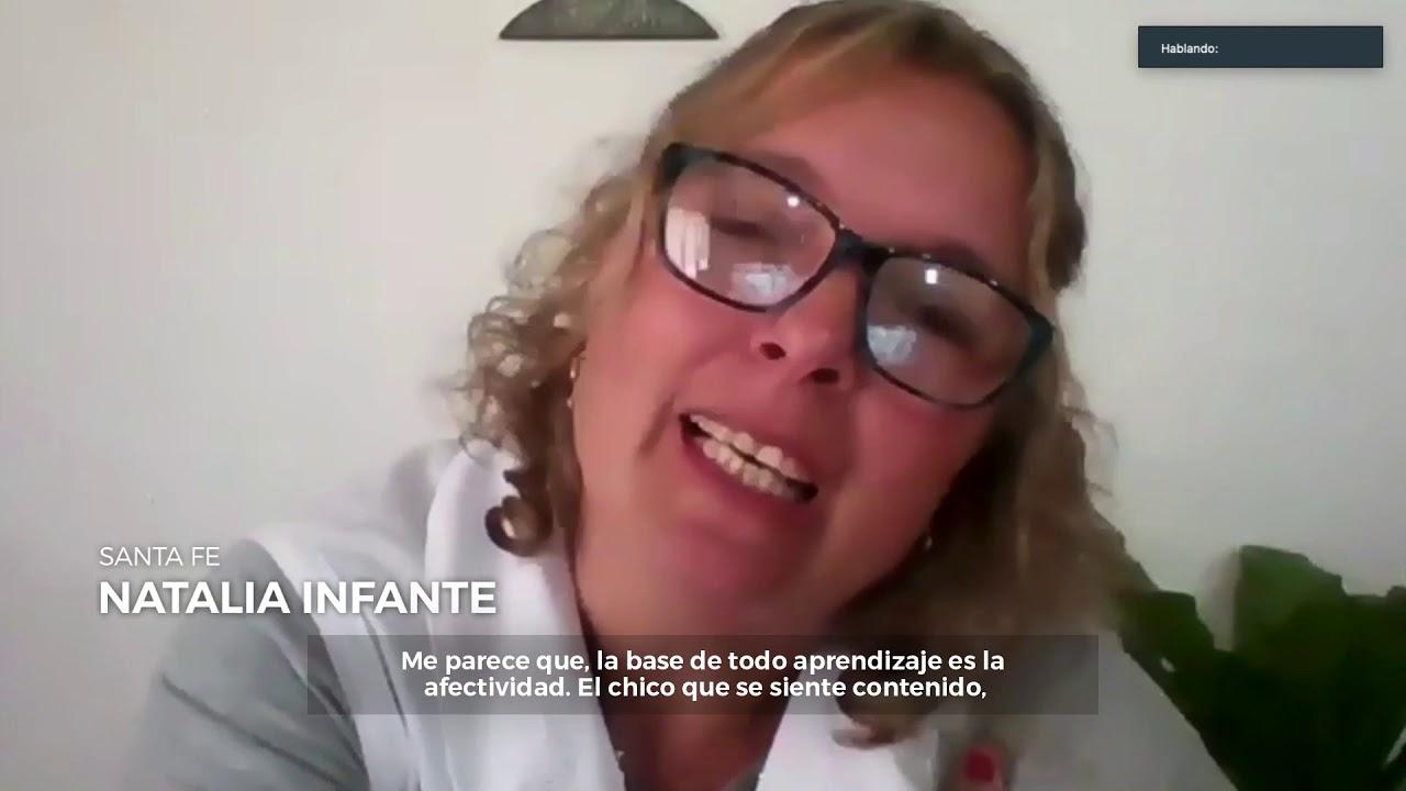 La Primera Dama Fabiola Yáñez realizó un encuentro virtual con maestros de diferentes provincias