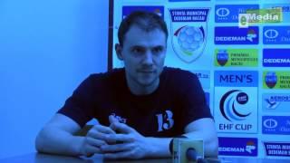 MIHAI Rohozneanu, decalaratii dupa Stiinta MD Bacau - CS Caras -Severin 24-23