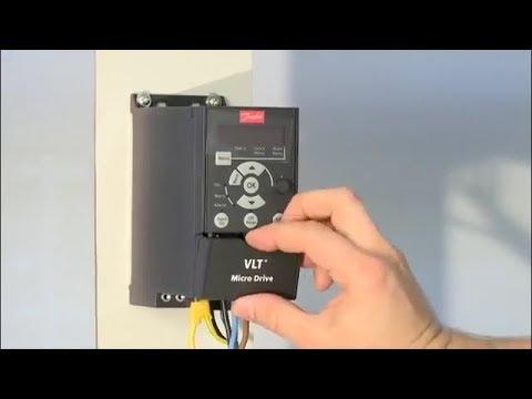Как подключить преобразователь частоты Danfoss VLT Micro Drive FC 51
