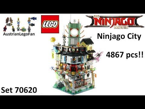 Lego Ninjago Movie 70620 Ninjago City - Lego Speed Build Review