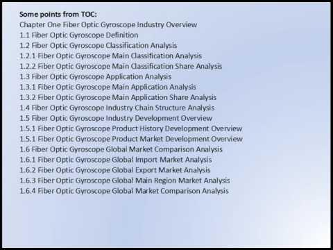 Global Fiber Optic Gyroscope Market