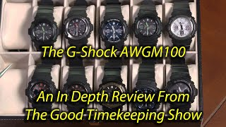 Casio G-Shock AWG-M100 In-depth Review