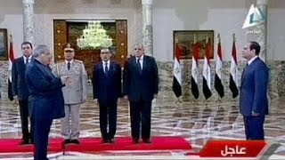 Egyptian Prime Minister Ibrahim Mehleb sworn in as head of government
