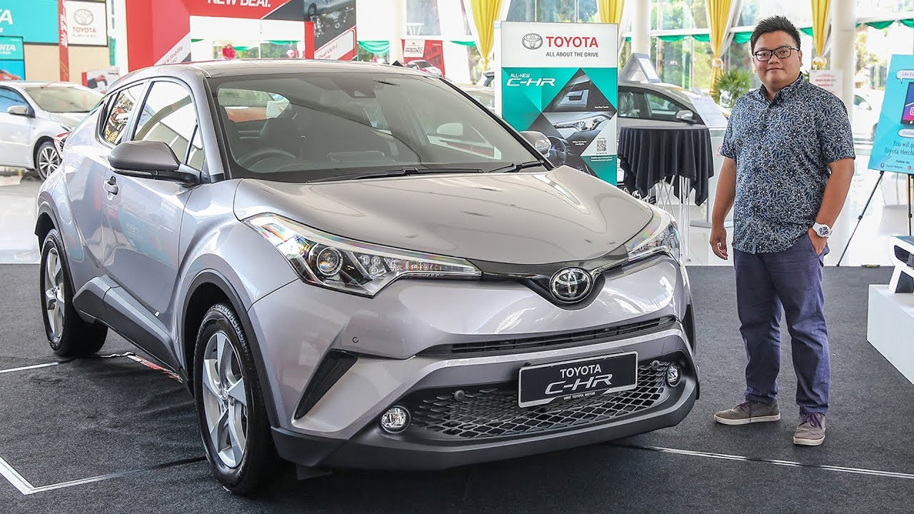 first look: toyota c-hr in malaysia – detailed exterior and