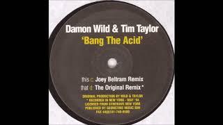 Damon Wild & Tim Taylor - Bang The Acid (The Original Remix) (D) [MISSILE 33]