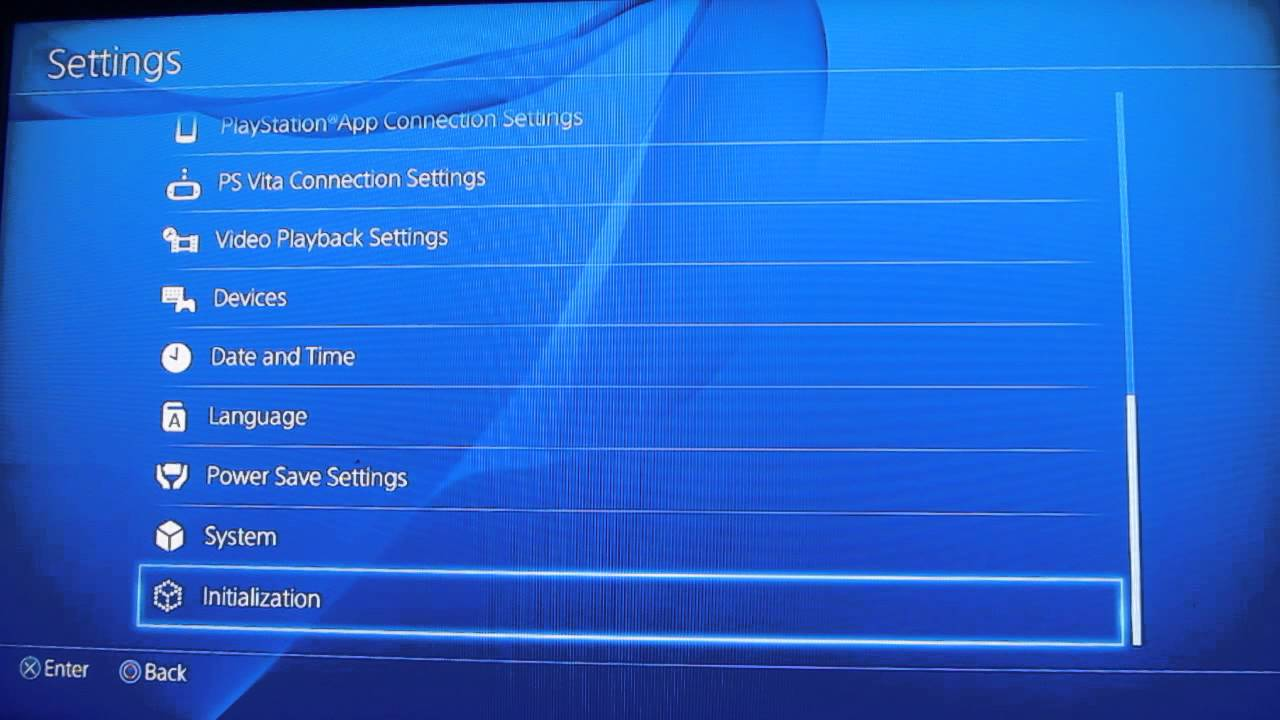 How to Reset PS27 to Factory