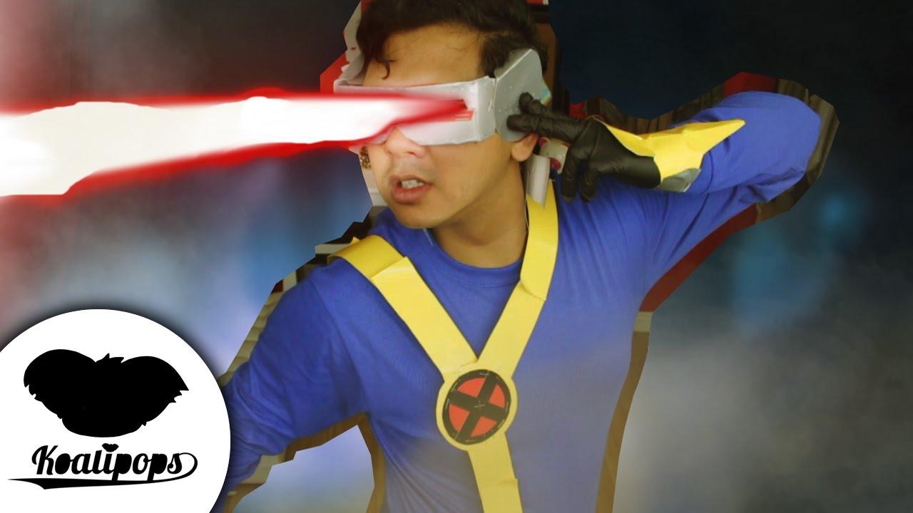 cyclops costume | 5$ costume | how to | x-men - youtube