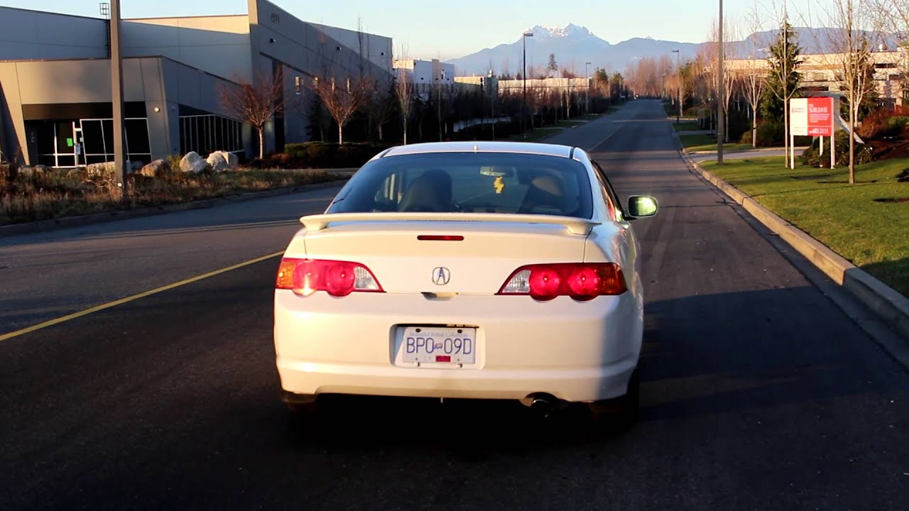 2004 Acura Rsx Type S >> 2004 Acura Rsx Type S Acceleration Exhaust Youtube
