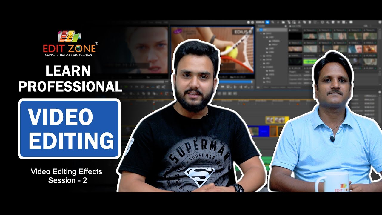 Download Learn Video Editing | Session - 2 | Create Titles | Edit Zone