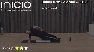 UPPER BODY & CORE workout