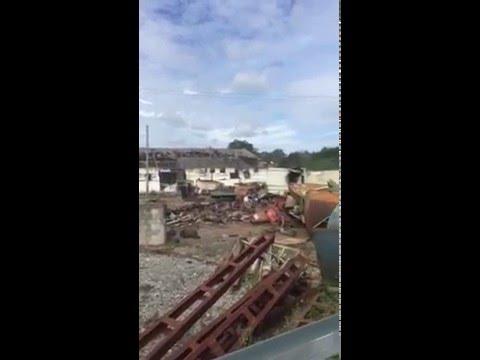 images amateur explosion Bayonne