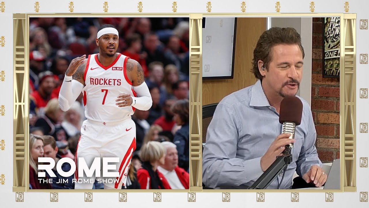 Melo Traded to The Bulls | The Jim Rome Show