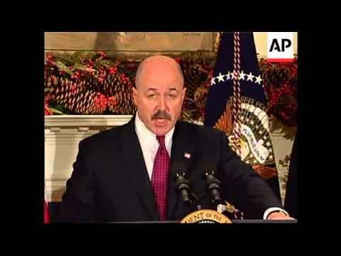 President announces new Homeland Secy