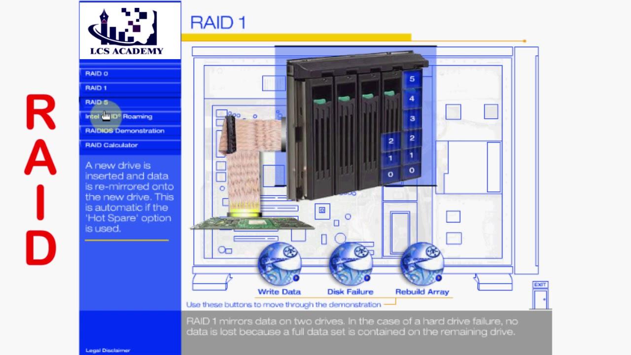 RAID Practical 0,1,5 & Server