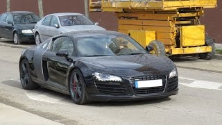 Audi R8 V8 4.2 FSI / Start Up, Sound & Acceleration