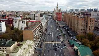 Москва с высоты птичьего полёта – Улица 1905 года