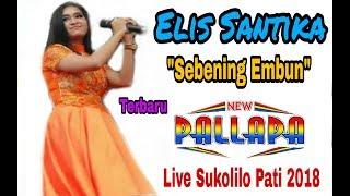 Elis Santika~Sebening Embun New Pallapa 2018 •Live Sukolilo Pati