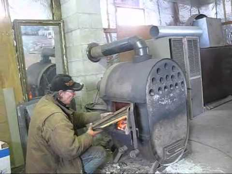 - Mikes Ratrod Wood Stove Shop Stove - YouTube