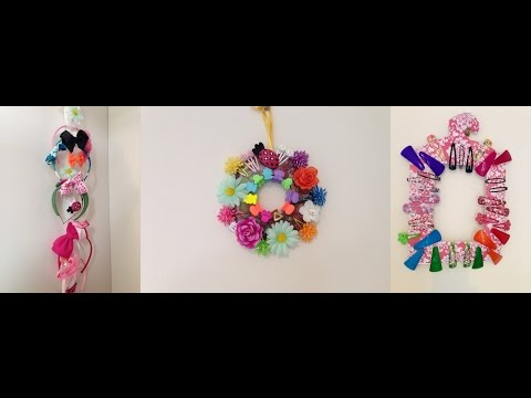 DIY Easy  hair accessories organizer| best out of waste | How to organize | Head band holder